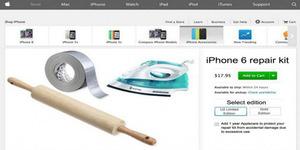Setrika Alat 'Ampuh' Atasi Layar iPhone 6 Melengkung