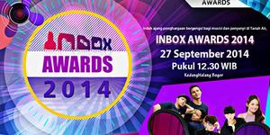 Daftar Nominasi Inbox Awards 2014
