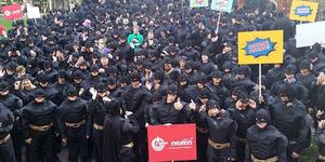 500 Batman Bersatu Pecahkan Rekor Dunia