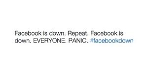 Facebook Kembali Down