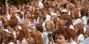 5.000 Orang Berambut Merah Padati Jalanan di Belanda dalam Festival Redhead Day