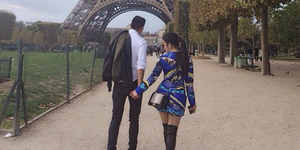 Foto Syahrini Digandeng Pria Misterius di Menara Eiffel