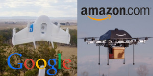 Google Project Wing, Drone Pengantar Barang Saingan Amazon