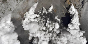 Gunung Ontake di Jepang Meletus, 250 Orang Terjebak di Puncak