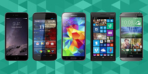 iPhone 6 & iPhone 6 Plus vs. Galaxy S5 vs. HTC One M8 vs. Lumia 930 vs. Moto X