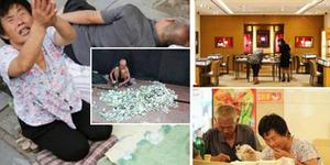 Kehidupan Mewah Pengemis di China Berpenghasilan Rp 6 Juta Sehari