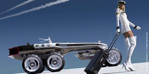 Michael Bay Garap Film Kendaraan Futuristik Cosmic Motors