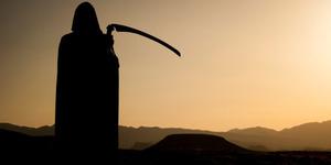 Penampakan Malaikat Maut di Pemakaman Gegerkan Warga AS