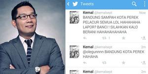 Ridwan Kamil Polisikan Akun @kemalsept Karena Lecehkan Kota Bandung