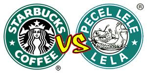 Plagiat Starbucks, Pecel Lele Lela Ganti Logo