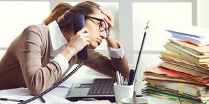 1 Dari 20 Pekerja Kantor Alami Stres