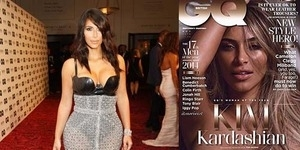 Woman of The Year, Kim Kardashian Pose Bugil di GQ