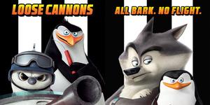 4 Poster Karakter Konyol Penguins of Madagascar