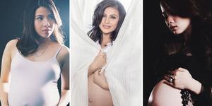 7 Artis Cantik Berpose Seksi Saat Hamil