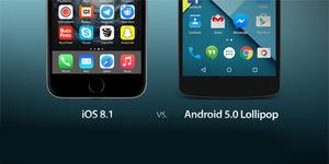 8 Fitur Android Lollipop Ini Tak Dimiliki iOS 8