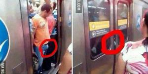 Apes, 'Burung' Pria ini Terjepit Pintu Kereta Otomatis