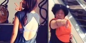 Baju Kelewat Seksi, Gadis Remaja Dimarahi Ibu-Ibu di Mall