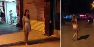 Dijanjikan iPhone 6, Wanita China Nekat Lari Bugil di Jalanan