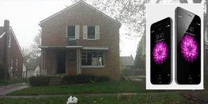 Dijual: Rumah 2 Lantai 3 Kamar Tidur Barter iPhone 6