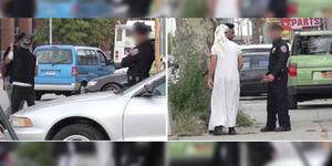 Diskriminasi Muslim, Polisi Amerika Periksa Pria Berpakaian Khas Timur Tengah