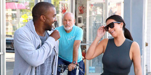 Foto: No Bra Day, Kim Kardashian Tampil Seksi Tanpa Bra