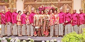 Foto Pelaminan di Resepsi Pernikahan Raffi Ahmad-Nagita Slavina