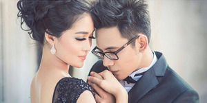 Foto Prewedding Romantis Gracia Indri-David NOAH