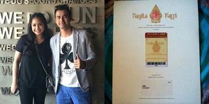 Foto: Undangan Nikah Raffi Ahmad-Nagita Slavina Pakai Barcode