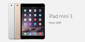 Harga iPad Mini 3 Rp 4,8 juta