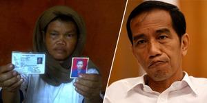 Ibu Tukang Sate Penghina Jokowi di Facebook Rela Bersujud Minta Maaf