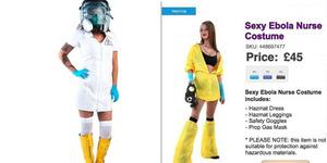 Kostum Halloween Bertema Seragam Seksi Ebola Dibanderol Rp 500 Ribu