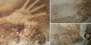 Lukisan Purba Berusia 40.000 Tahun Ditemukan di Sulawesi Selatan