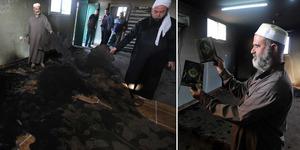 Masjid Abu Bakar di Tepi Barat Dibakar Warga Israel