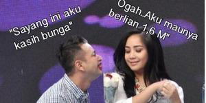 Meme Kocak Pernikahan Raffi Ahmad-Nagita Slavina