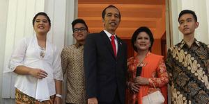 Mengenal Lebih Dekat Ketiga Anak Presiden Jokowi Beserta Arti Namanya