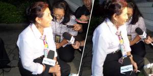 Menteri Nyentrik, Susi Pudjiastuti Menikmati Rokok Usai Diumumkan Presiden Jokowi