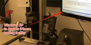 Mesin Penguji iPhone 6 Pakai Windows XP, Bukan Mac OS X