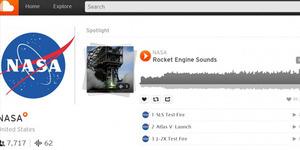 NASA Bagikan Rekaman Perjalanan Luar Angkasa di Soundcloud