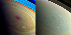 NASA Temukan 'Mata Raksasa' di Planet Saturnus