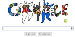 Niki de Saint Phalle: Ultah ke-84 Seniman Perancis di Google Hari