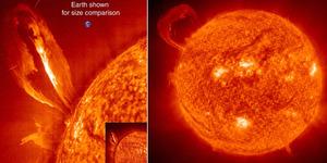 Letusan Matahari Terkuat Terjadi Pekan Ini