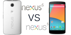 Perbandingan Nexus 5 VS Nexus 6