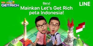 Peta Indonesia Hadir di LINE Let's Get Rich
