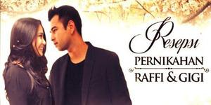 RCTI Tayangkan Resepsi Pernikahan Raffi Ahmad-Nagita Slavina