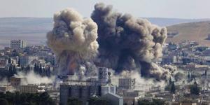 Serangan Udara Amerika di Suriah Tewaskan 553 Orang
