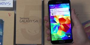 Tampilan Android L di Samsung Galaxy S5