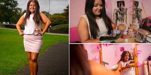 Terobsesi Punya Kulit Eksotis, Gadis ini Lakukan Tanning 4 Kali Sehari