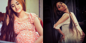 Unggah Foto Hamil Besar, Dewi Perssik Sindir Julia Perez?