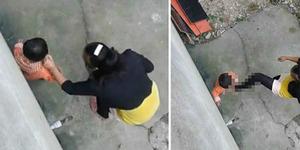 Video Ibu Tendang Kepala Anak Picu Kemarahan Netizen