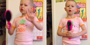 Video Pesan Mengharukan dari Bocah 5 Tahun Penderita Kanker